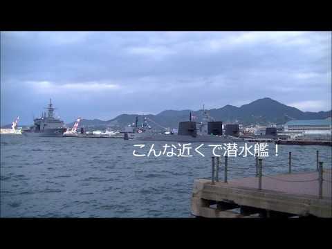 M140213 海上自衛隊佐世保基地 護衛艦『しらね・さわぎり』出港by snagaokatodoroki