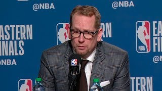 Nick Nurse Postgame Interview - Game 4 | Bucks vs Raptors | 2019 NBA Playoffs