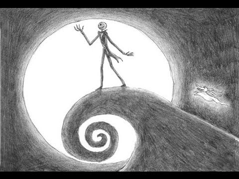 Special Nightmare Before Christmas Drawing! Thanks for 5000 subs ...