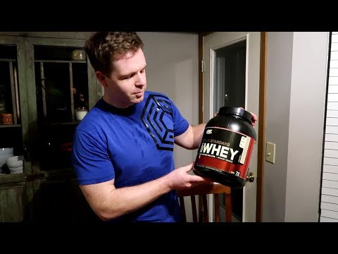 Optimum Nutrition Gold Standard Rocky Road Whey Protein Review/Taste Test