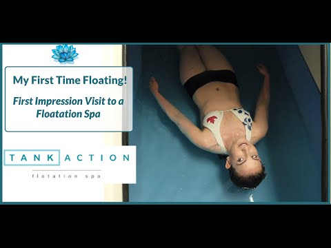 My First Time Floating - Tank Action Floatation Spa in Ottawa!