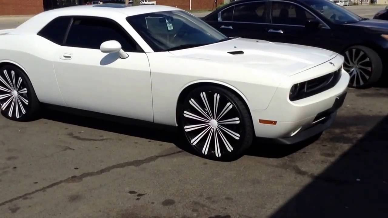 2011 Dodge Challenger Rolling Out Of Rimtyme Durham On 24
