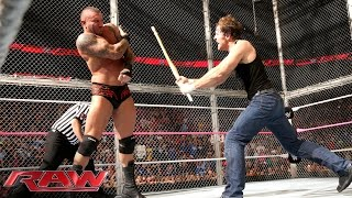 John Cena & Dean Ambrose vs. Randy Orton, Seth Rollins & Kane - 3-on-2 Handicap Street Fight