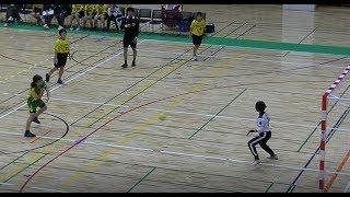 20191215福岡県高校新人ハンドボール(女子)準々決勝 西南学院vs福岡(後半)