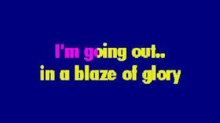 Bon Jovi-Blaze of Glory Lyrics