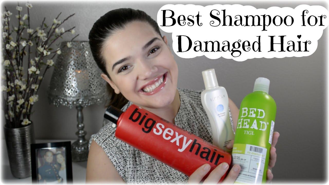 Best Shampoo For Damaged Hair Youtube
