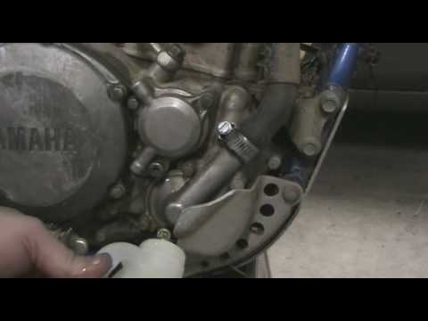 part 8 how to disassemble a motocross bike draining radiator part 8 how to disassemble a motocross bike draining radiator coolant yz250f example