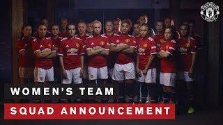 Manchester United Women's Team | Squad Announcement