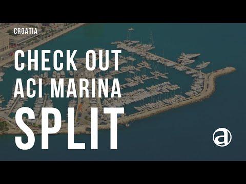 ACI Marina Split Croatia | Air Video | Yacht Charter | Yacht Concierge antropoti