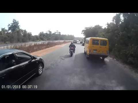 Ibadan - Lagos bike trip (Zeus and Rathod)