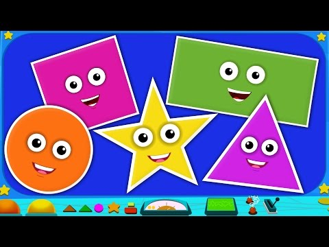Buddies | The Shapes Song | Learning Shapes | Nursery Rhymes | Kids Songs