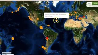 6.7 Earthquake Hits Japan, 6.2 Nicaragua, 5.8 Solomon Islands and More!