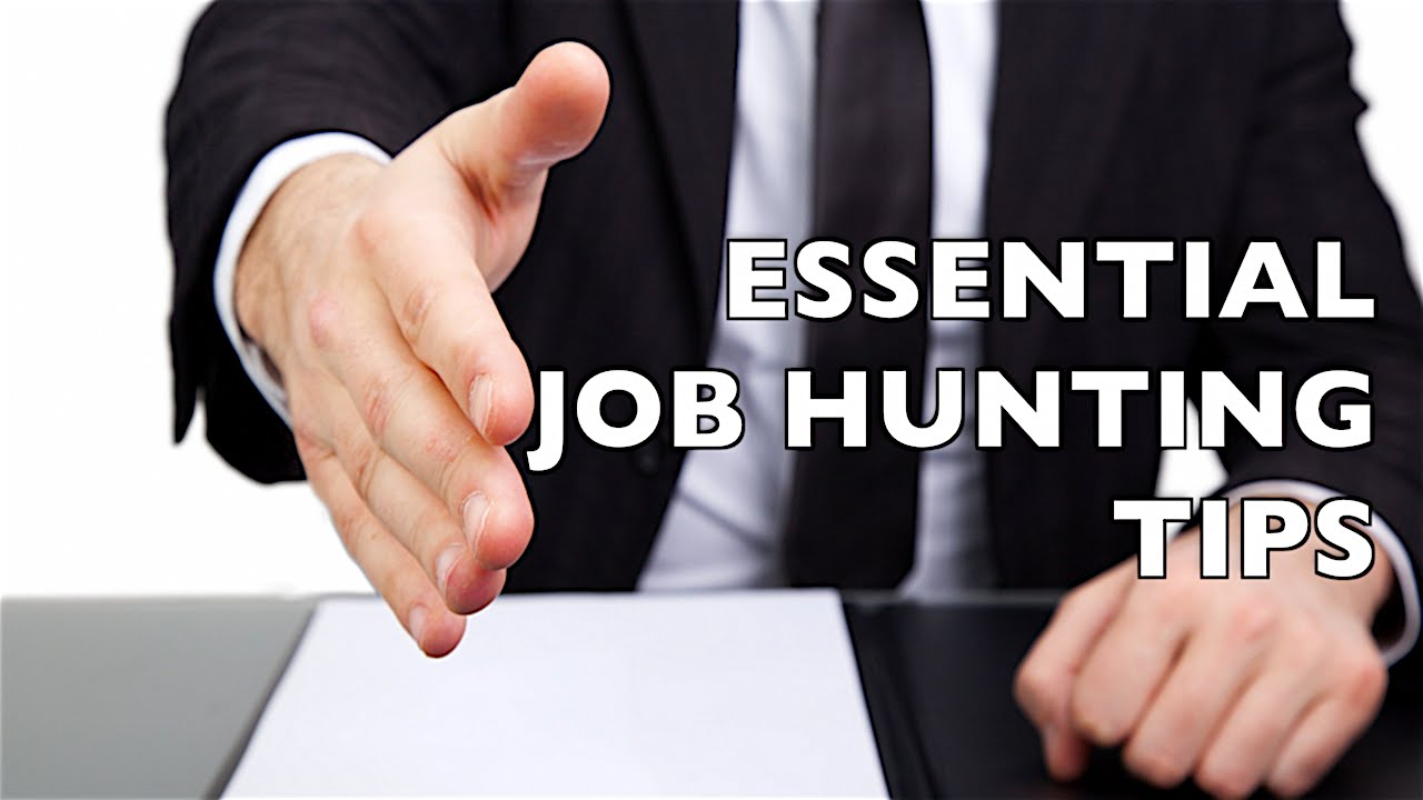 6 Essential Job Hunting Tips!   YouTube