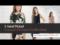 5 Hand Picked Casual Dresses Collection By Joseph Ribkoff, Winter 2017