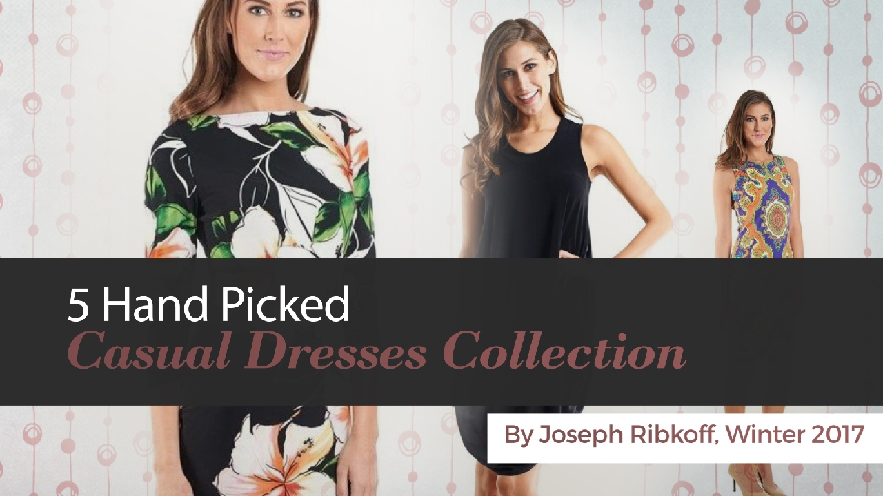 a46c8166ef02 5 Hand Picked Casual Dresses Collection By Joseph Ribkoff ...