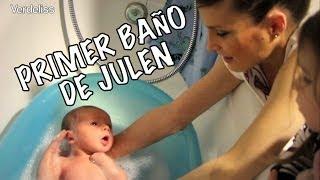 Primer baño bebé Julen ( recién nacido) thumbnail