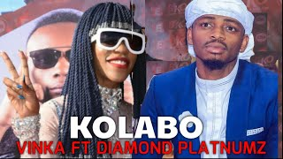 DIAMOND PLATNUMZ NA VINKA NEW KOLABO