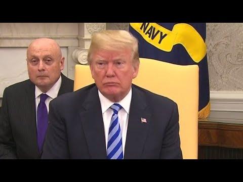 "Trump: ""We'll see what happens"" on North Korea"