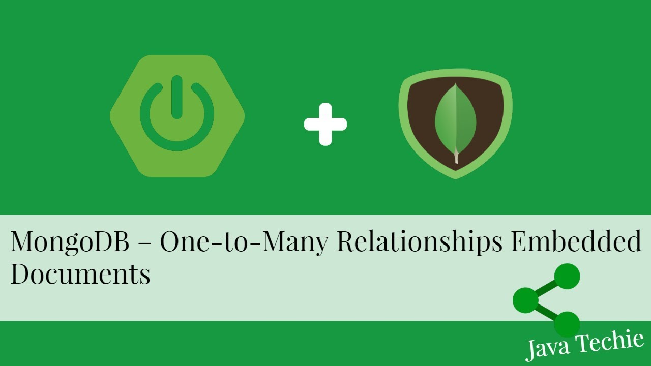 MongoDB – Model One-to-One, One-to-Many Relationships Embedded Documents |  Spring Boot | Java Techie
