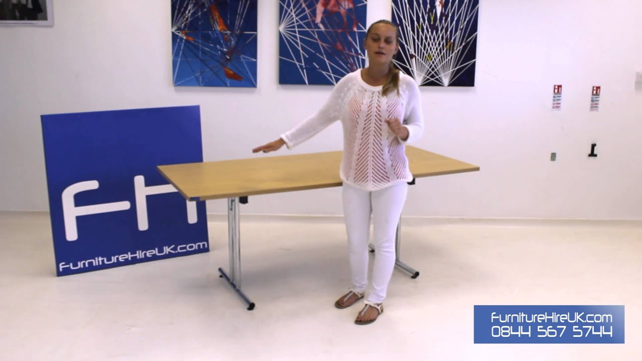 Modular Rectangular Table (1600mm) Demo - Furniture Hire UK