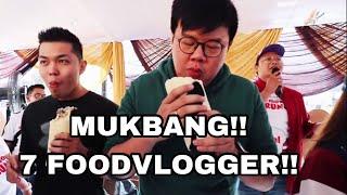 LOMBA MUKBANG LAWAN FOODVLOGGER LAINNYA!!