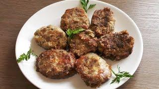 Картофельные котлеты с грецкими орехами - вегетарианский рецепт