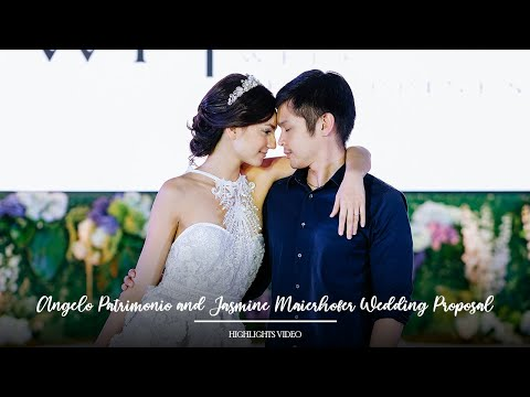 Angelo Patrimonio And Jasmine Maierhofer Wedding Proposal | Highlights By Nice Print Photography