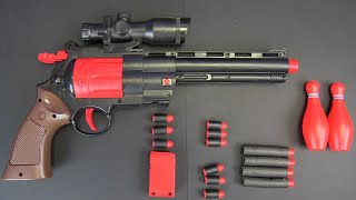 Box of Toys ! Military 44 MG Gun, Toy Gun with foam bullets