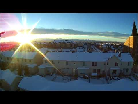 Ocula HD+WiFi Flight Calgary, Alberta  Canada Jan 5, 2018 4PM