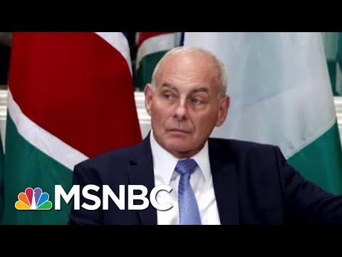 John Kelly Defends Time At The White House | MSNBC