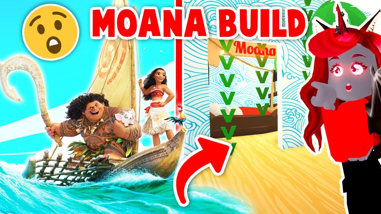 Download I Made A Castle For Moana Build Challenge In Adopt Me! (Roblox)