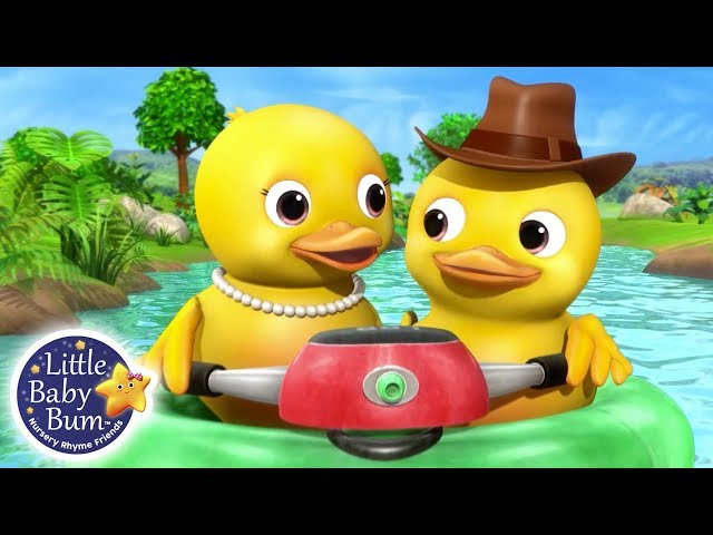 Learning Numbers for Kids | 10 Little Ducks | Little Baby Bum Learning