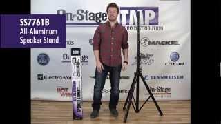 SS7761B All-Aluminum Speaker Stand