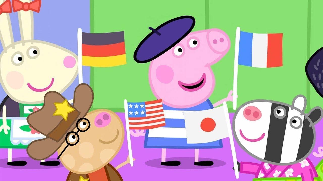 Peppa Pig Français | Travailler et s'amuser | 1 HEURE ⭐️ Compilation 2019 ⭐️ Dessin Animé