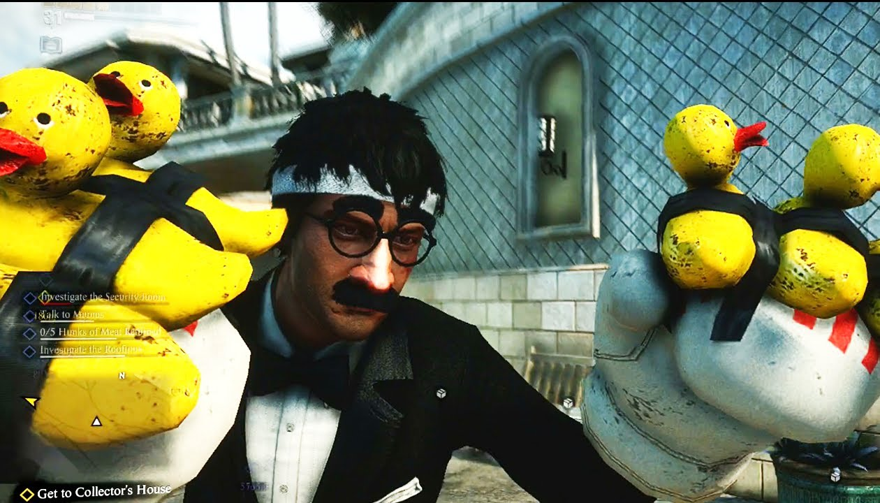 Ducky gloves dead rising 3 18 gameplay clip malvernweather Images