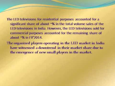 India LED Television Market Research Report 2014-2018