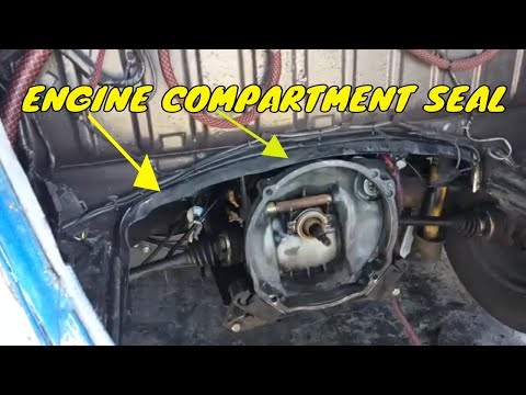 Engine Compartment Seal Replacement – Classic Volkswagen Beetle – How To