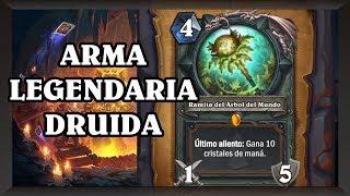 ARMA LEGENDARIA DE DRUIDA