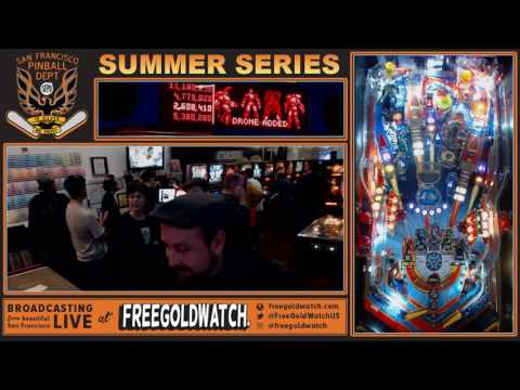 SFPD Summer Series Session No. 2! Pin-Golf! #pinball #streaming #fun #sanfrancisco