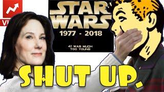😂 DISNEY LUCASFILM ASKS STAR WARS CRITICS TO STFU IN 2019?