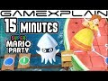 15 Minutes of Super Mario Party's Classic Board Mode DIRECT FEED Gameplay (Nintendo Switch)