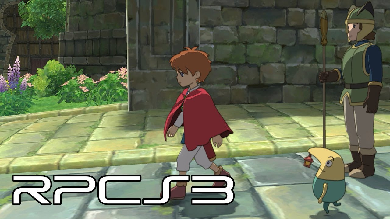 Ni no Kuni is fully playable on the latest version of the
