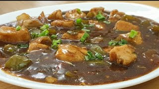 Chicken chilli gravy recipe in hindi lChinese chilli chicken recipe with gravy lCooking with Benazir