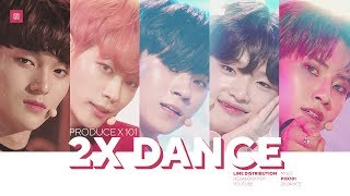 PRODUCE X 101 2X Speed Dance   5 Concept Songs (MOVE, U GOT IT, etc.)
