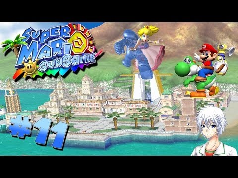 Let's Play Super Mario Sunshine [German / 100%] #11 - Plaza