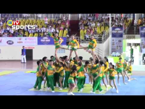Naga College Foundation Tigers Pep Squad - 1st Regional Cheer & Dance Competition Travel Video
