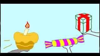 С днем рожденья! Прикол! Открытка!