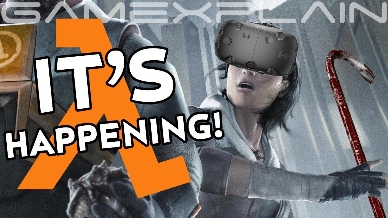 Valve Announced Its VR Title 'Half-Life: Alyx', And That's Really ...