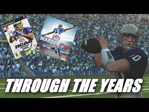 Brady Quinn Through The Years - NCAA Football 05 - Madden 16