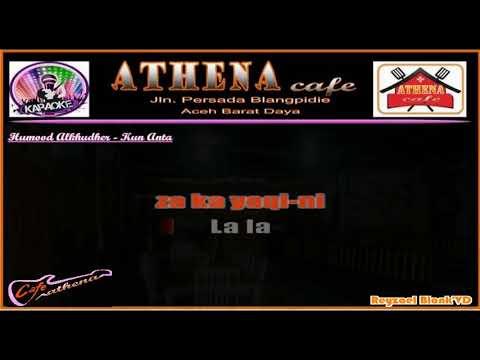 KUN ANTA (KARAOKE SLOW) - HUMOOD (FEMALE KEY   ACOUSTIC GUITAR VERSION)